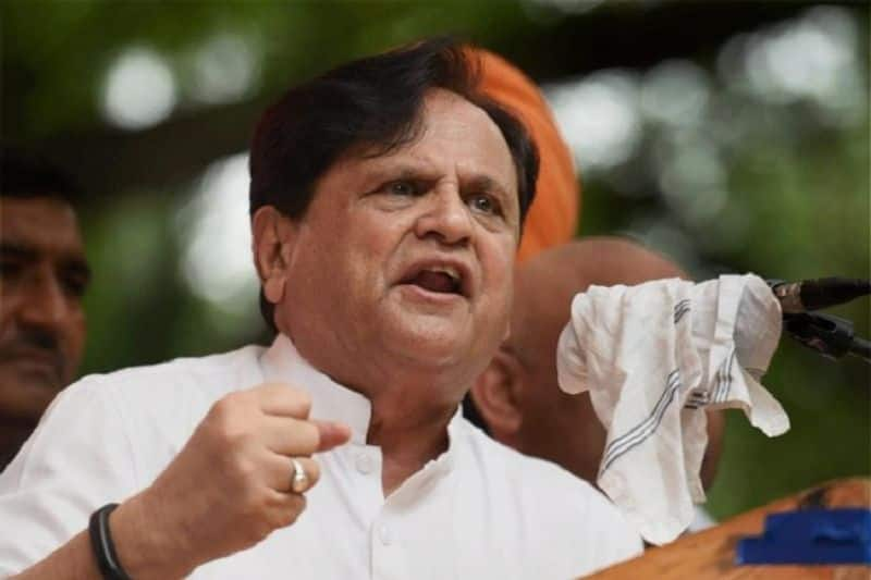 Congress leader Ahmed Patel accused of grabbing land