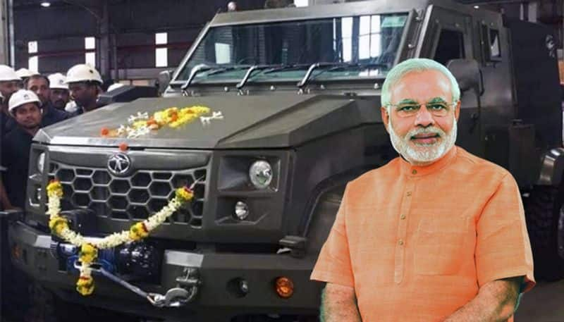 Tata Merlin LSV for Indian Army Spotted Testing, Promises Superior Protection
