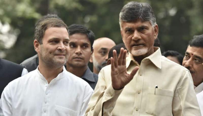 Rahul Gandhi Congress divorced Chandrababu Naidu TDP broken alliance that never was
