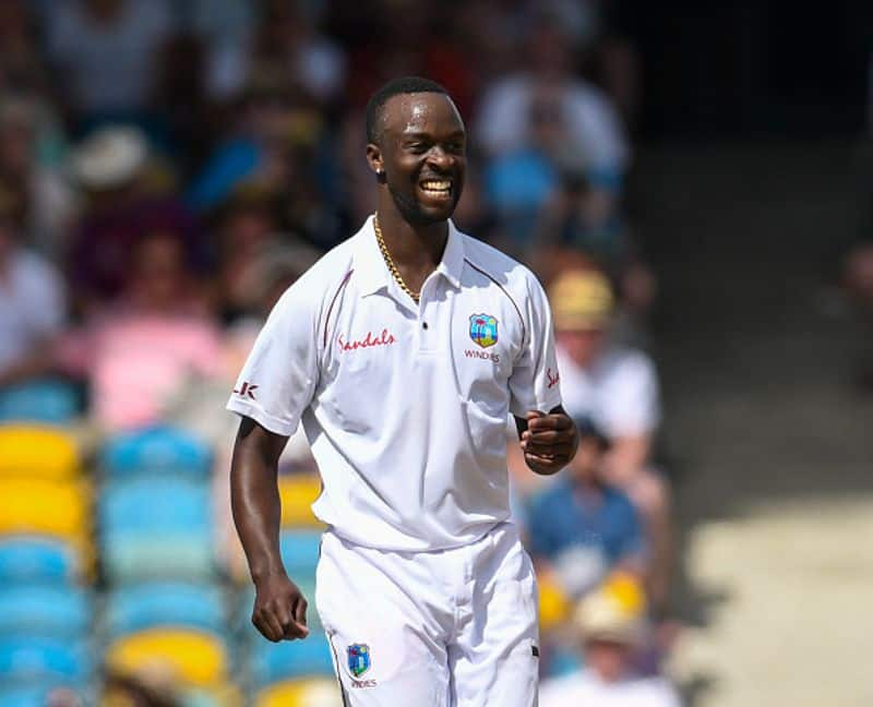 Blown away in Barbados: Kemar Roach destroys England for 77 on 18-wicket day