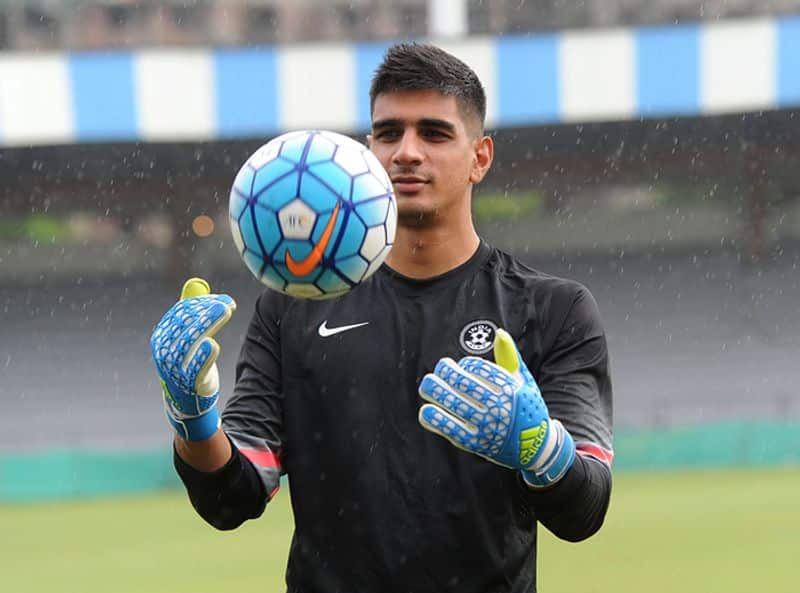 Gurpreet Sandhu says Asian Cup performance will have huge impact on Indian football