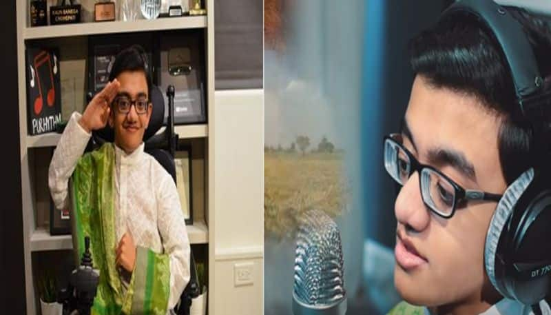 Specially-abled Indian-origin teenager Sparsh Shah to sing Jana Gana Mana at Howdy Modi event