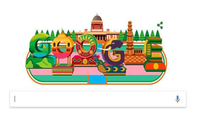 Google celebrates Republic Day  colourful doodle on incredible India