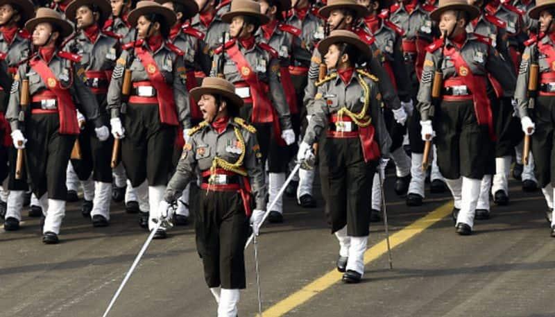 Republic Day 2019 All-women Assam rifles create history  parade