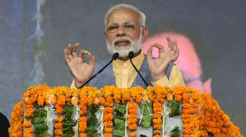 Center will not give up the robbers and get rid of nepotism - Modi