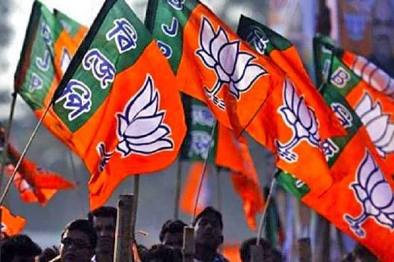 Former Samajwadi Party leaders Surendra Nagar Sanjay Seth join BJP