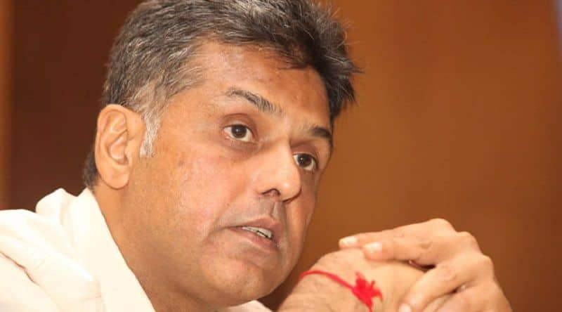 Manish Tiwari also claim for chandigarh seat, navjot kaur Sindhu and bansal also contender from this seat
