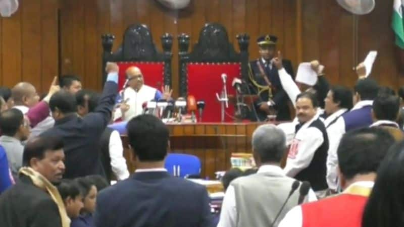 Protests against Citizenship Bill rock Assam Assembly governor heckled