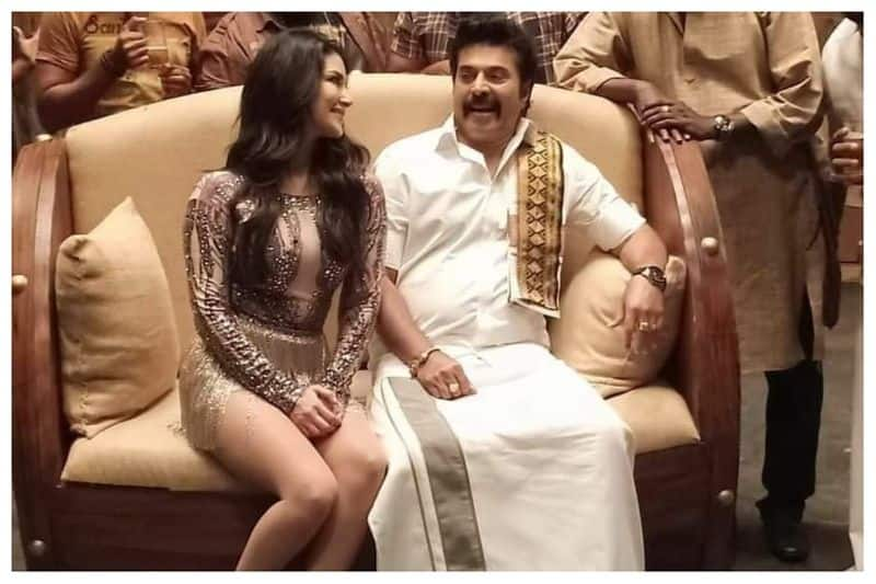 Mammootty, Sunny Leone's social media moment is now meme gold