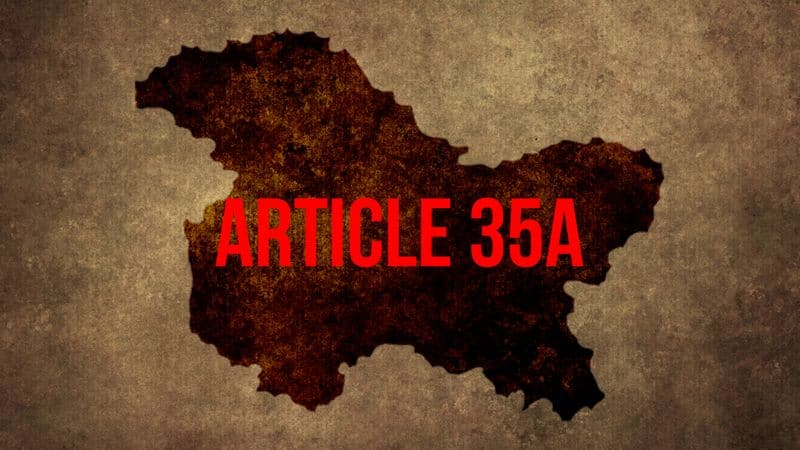 BJP determined to repeal Article 35A Kashmir leaders warn of unimaginable repercussions