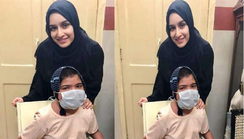 Actress Shraddha Kapoor stopped Shooting in Middle To Meet Her Unwell Fan