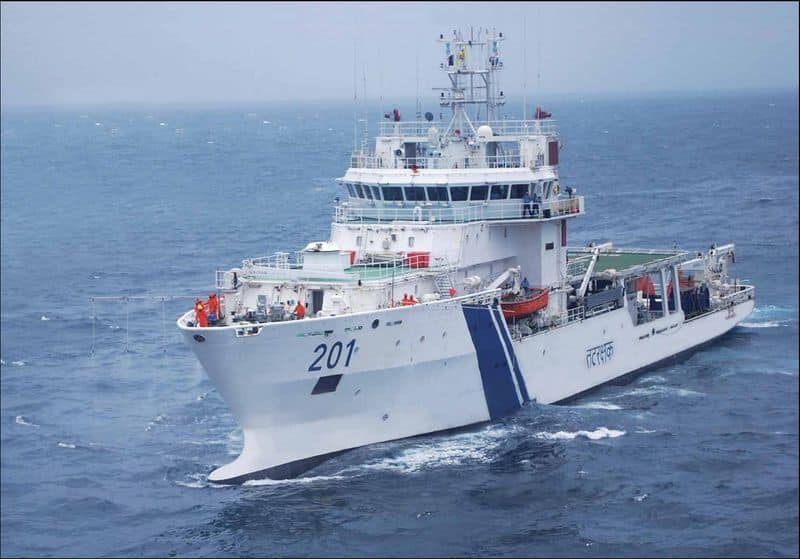 Indian Coast Guard icg foundation day: glorious journey
