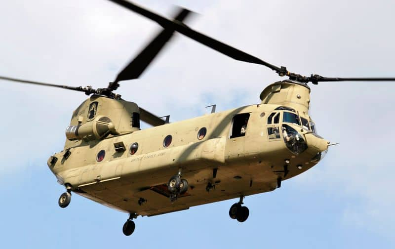Four Chinook helicopters arrive in India from US, to be deployed in Chandigarh