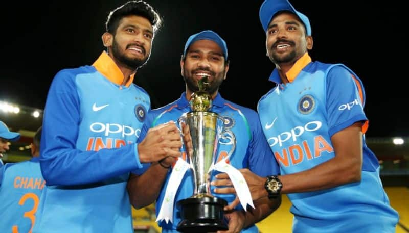 ICC ODI rankings: India move to 2nd after series wins in Australia, New Zealand