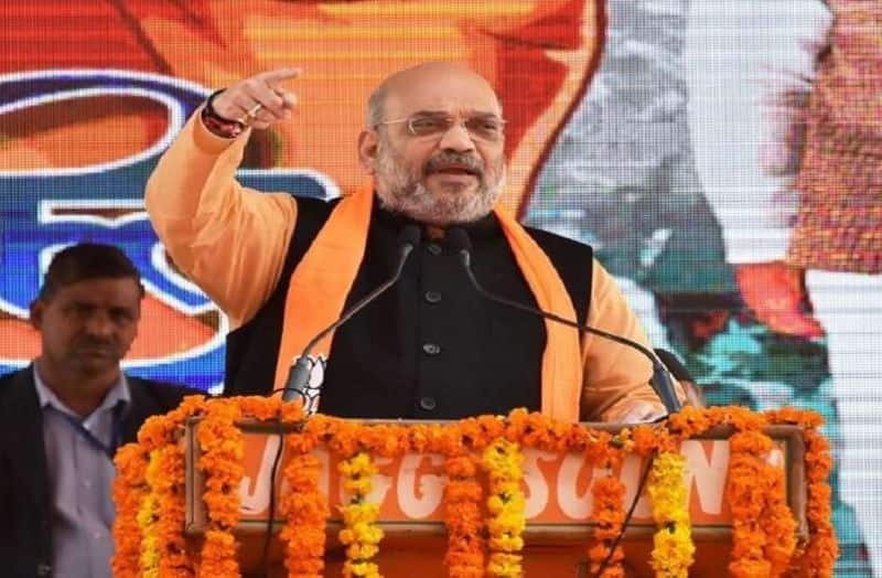 BJP president Amit Shah launches election campaign from Amravati Andhra Pradesh