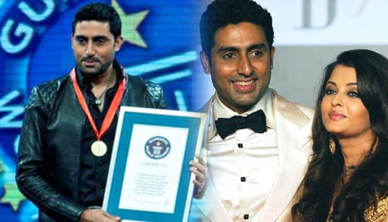 Happy Birthday Abhishek Bachchan: Won Guinness Book of World records not once but twice