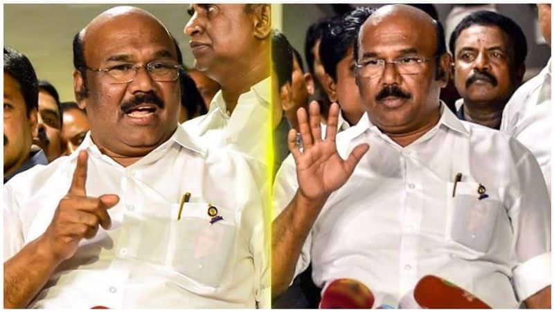 aiadmk party men who helps to sasikala...minister jayakumar