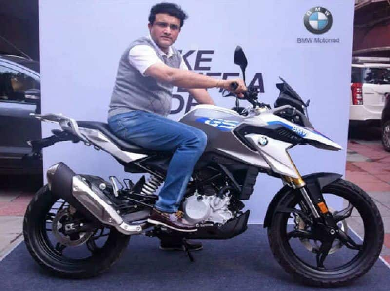 Saurav Ganguly will drive make in India BMW G 310 GS