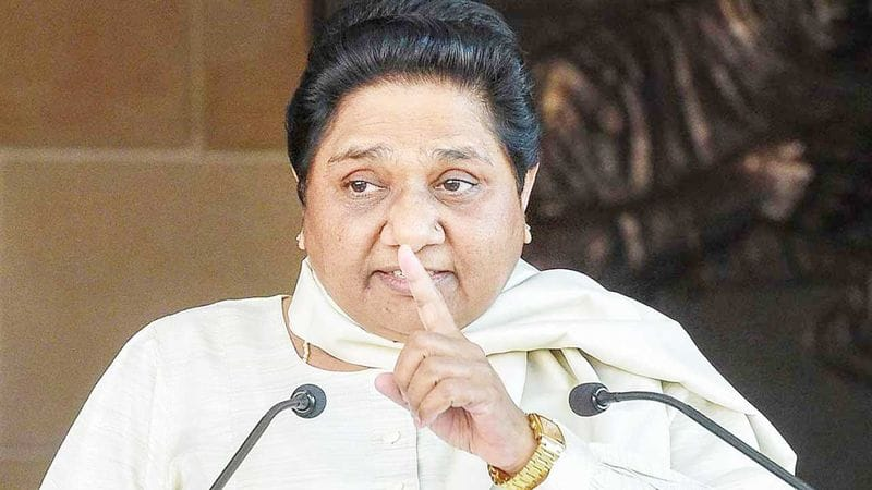 Mayawati asked to media dont play SC statement on her statue