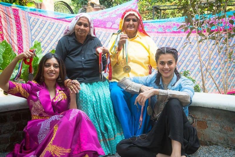 taapsee pannu and bhumi pednekar to play world's oldest shooters biopic