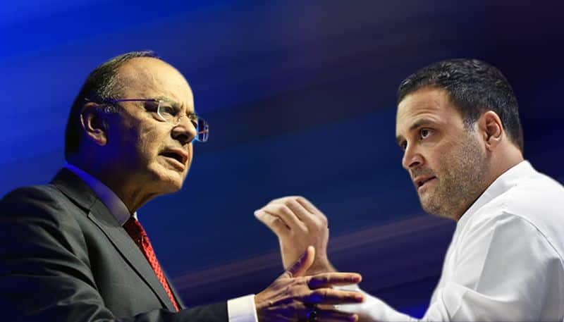 Jaitley slams Congress for peddling lies on Rafale to save 'sinking dynasty'