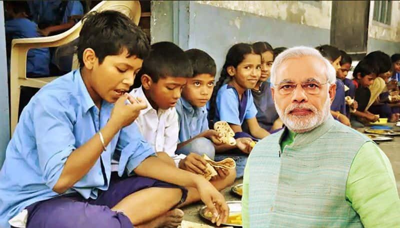 prime minister will serve 3 billion rice to poor children  in akshayapatras