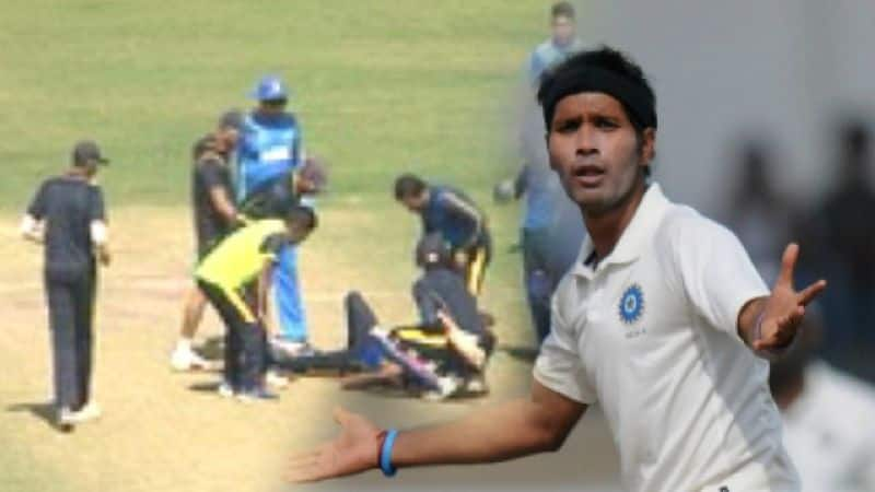 Ashok Dinda stuck on head; advised two-day rest after CT scan
