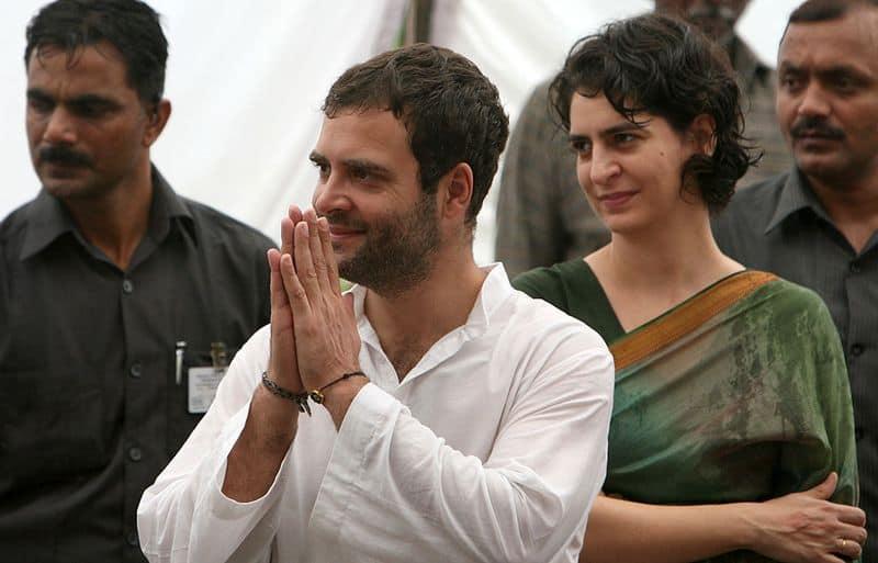 After PM corrupt no 1 jibe, Rahul, Priyanka try to garner sympathy for votes in Amethi