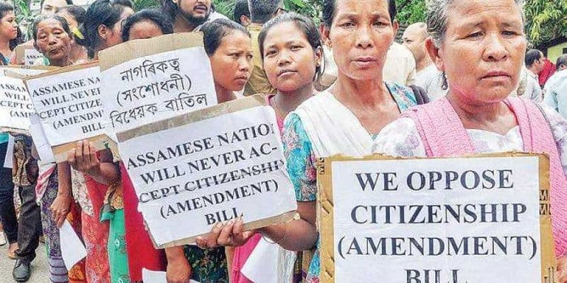 Modi government will bring proposal citizenship bill in upper house today