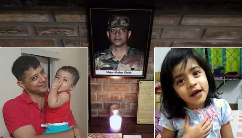 Daughter of martyr Major Akshay Girish shares heartfelt message