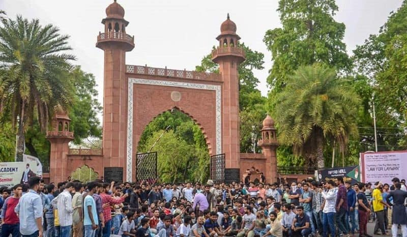 Learn why the rising heat in AMU due to Hindu Muslims is the state of UP