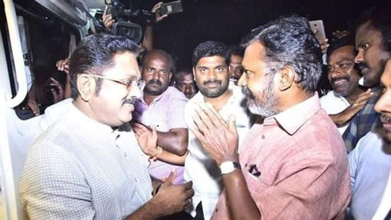 TTV Dhinakaran in the confusion