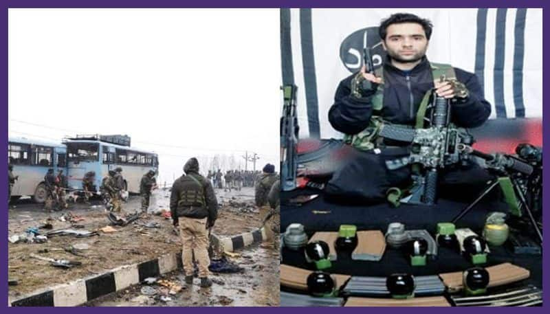 pulwama attack: jammu & kashmir police had shared the threat  posted by jaish on twitter