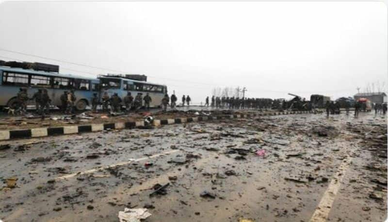 pulwama terror attack crpf up 12 indian soldiers martyred