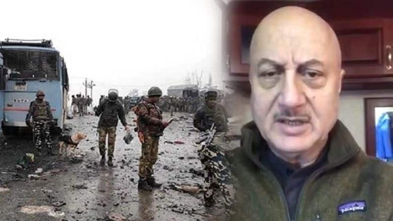 pulwama attack: actor anupam kher very angry on j&k attack