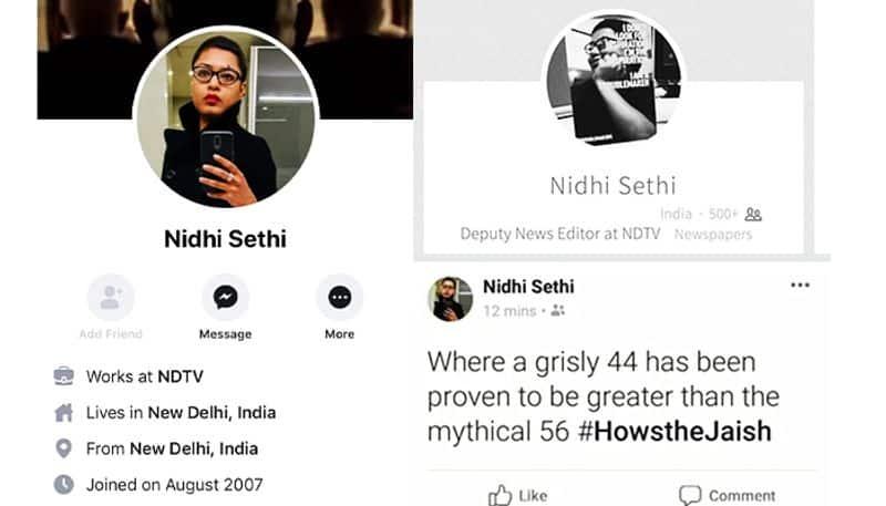 NDTV Deputy News Editor celebrate Pulwama terror Attack, suspend