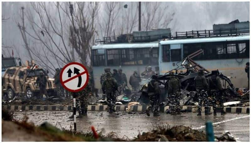 Pulwama terror attack Army deploys 9 security columns Jammu protests