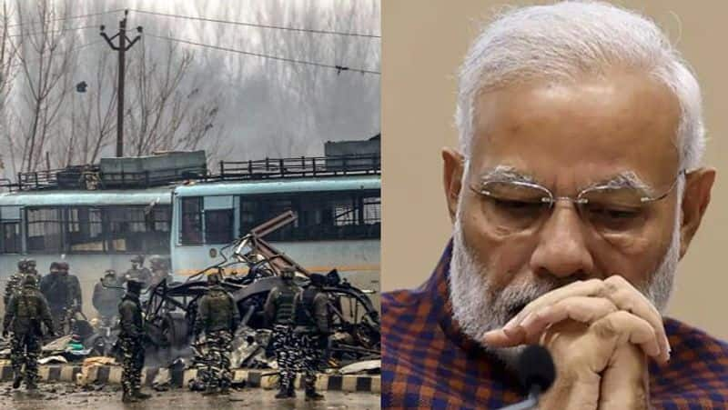 After Pulwama Attack Prime Minister Narendra Modi signals strike hard on Terrorist perpetrators