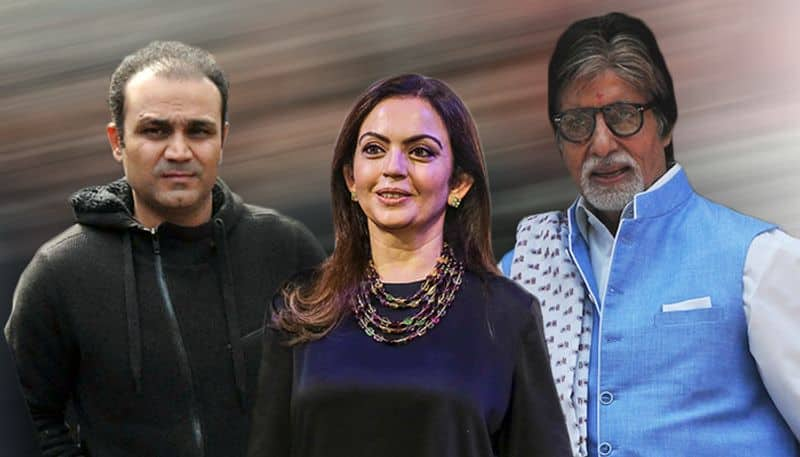 Amitabh Bachchan, Virender Sehwag, Reliance Foundation embrace kin of Pulwama martyrs