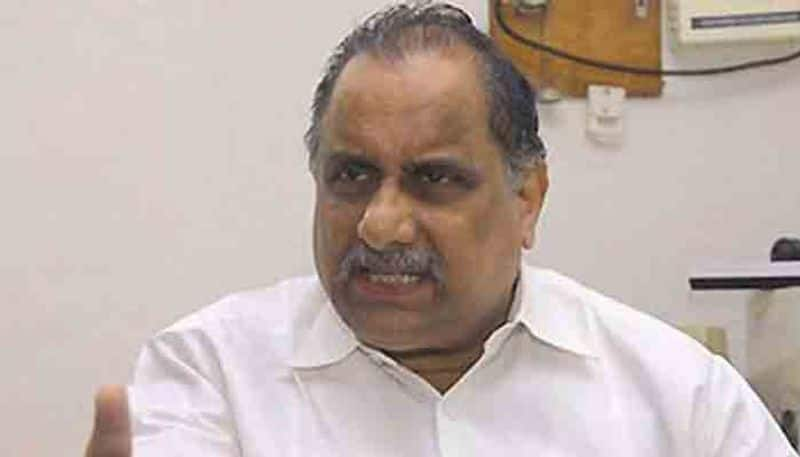Railway court orders to  attend to court on March 8 Mudragada padmanabham lns
