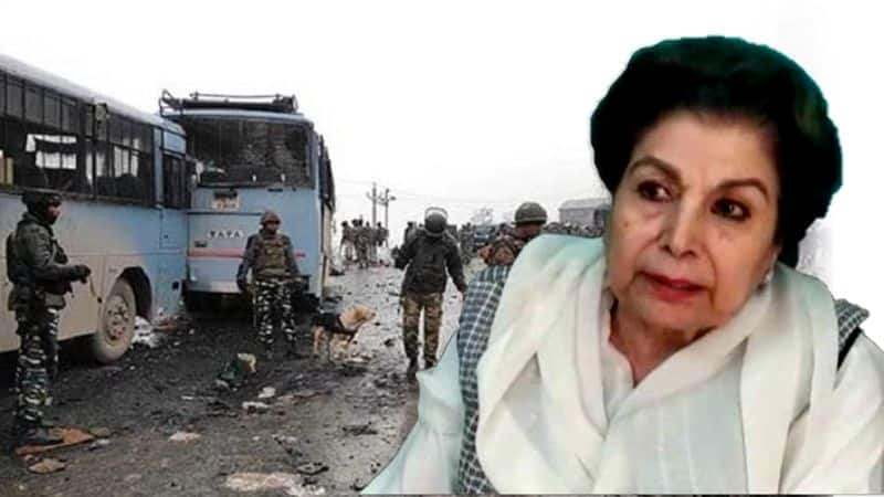 Congress leader Noor Bano's controversial statement on Pulwama attack; Blames army