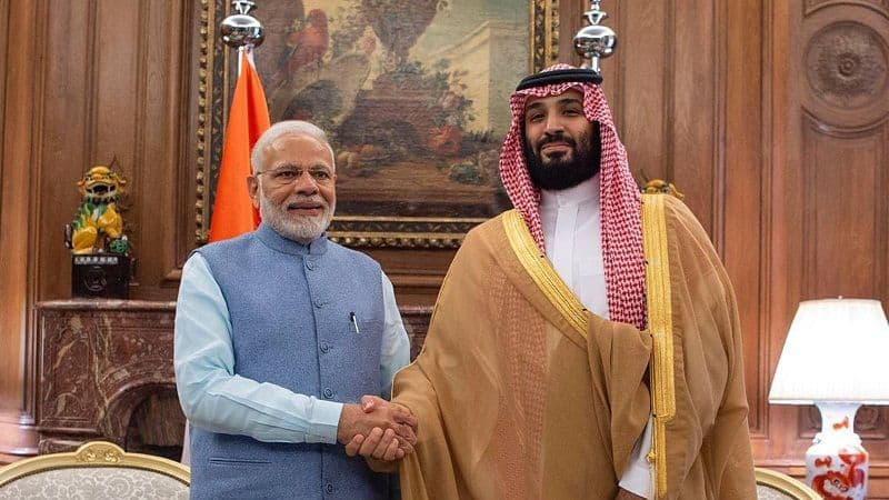 Saudi prince has changed his plan after india protest, several agreement will be sign between both country