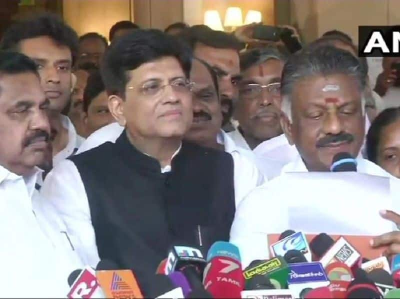 BJP got 5 seats in Tamil Nadu for 2019 election