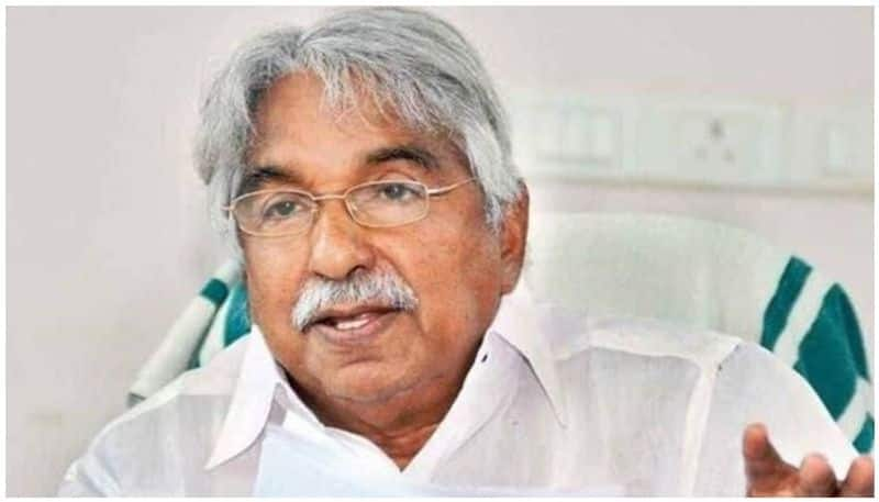 Expatriates should be taken on a chartered flight oommen chandy demands