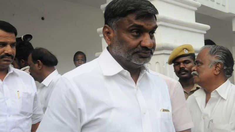 The AIADMK executive who beat the minister before the OPS