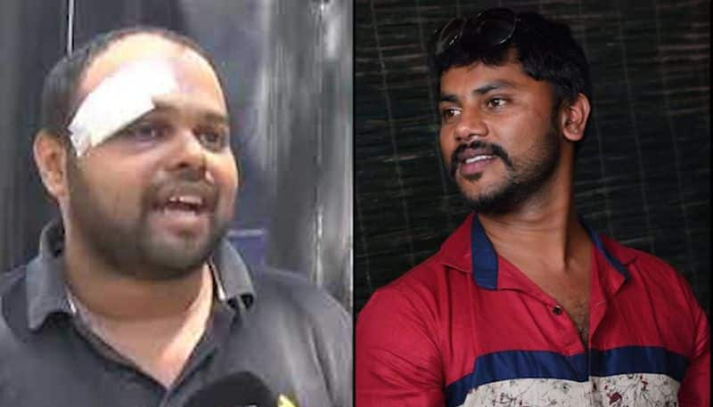 JDS supporters taunt injured BJP worker with video of him meeting woman