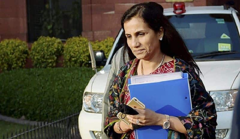 Cbi issued lookout circular against ex. icici chief Chanda Kochar to give loan Videocon