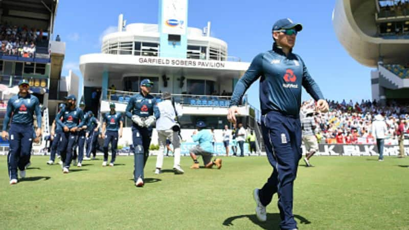 eoin morgan suspended for one odi match for second time slow over rate