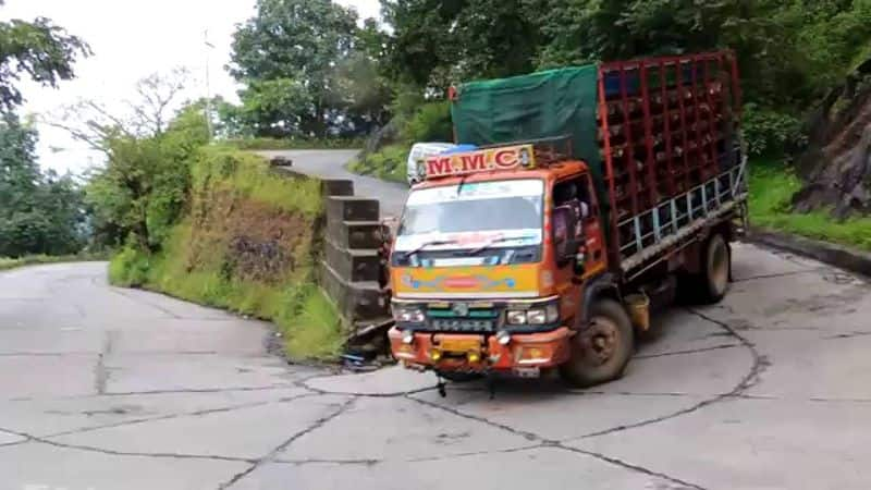 heavy vehicles banned on agumbe ghat road From June 15 to Oct 15th