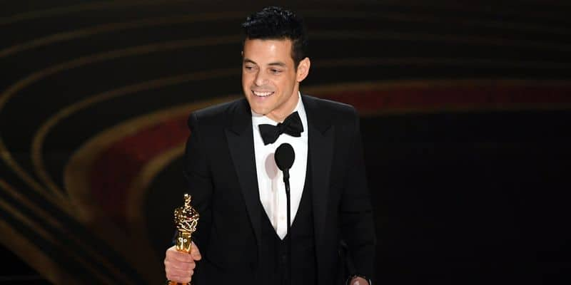 Rami Malek wins Best Actor for his performance in Bohemian Rhapsody